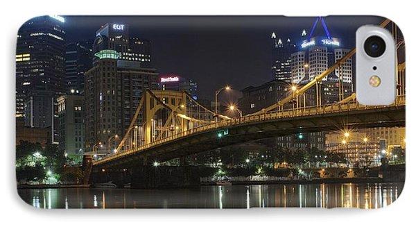 Golden Bridge IPhone Case by Frozen in Time Fine Art Photography