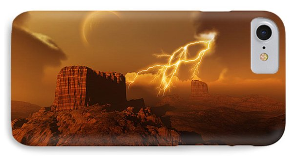Golden Canyon Phone Case by Corey Ford