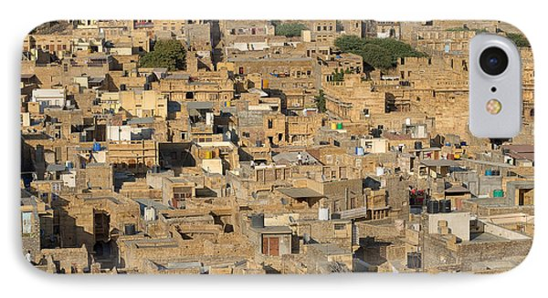 IPhone Case featuring the photograph Golden City Jaisalmer by Yew Kwang