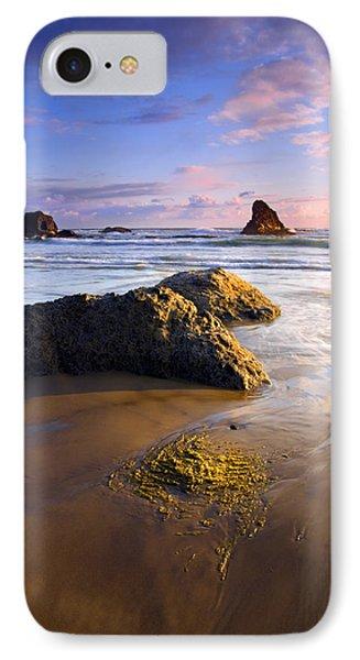 Golden Coast Phone Case by Mike  Dawson