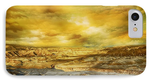 Golden Colors Of Desert IPhone Case