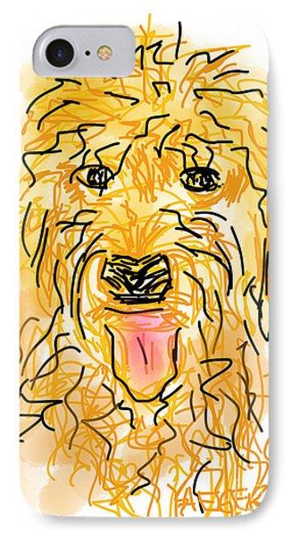 Golden Doodle IPhone Case