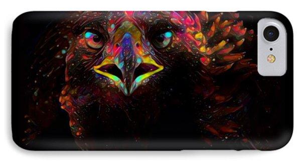 Golden Eagle Color Splash IPhone Case