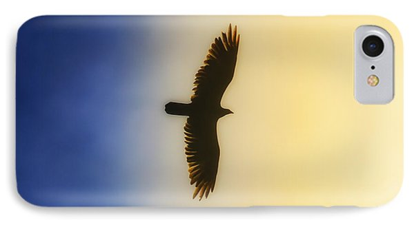Golden Eagle Over Friday Harbor IPhone Case