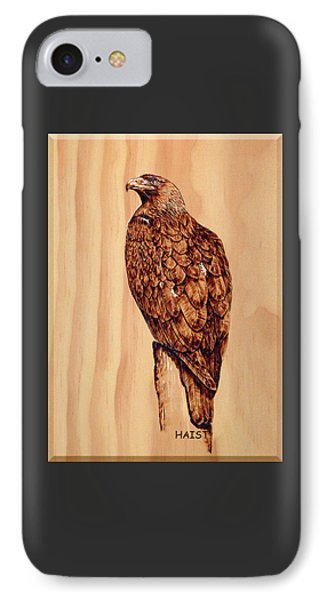 Golden Eagle IPhone Case by Ron Haist