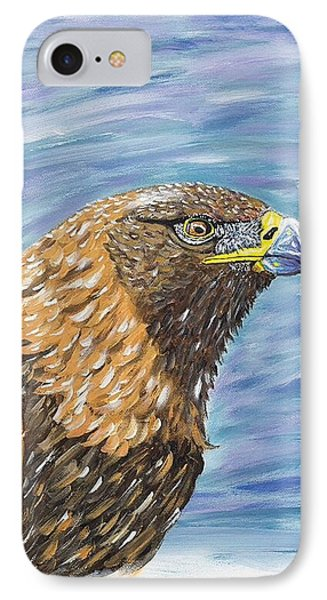 Golden Eagle IPhone Case by Scott Wilmot