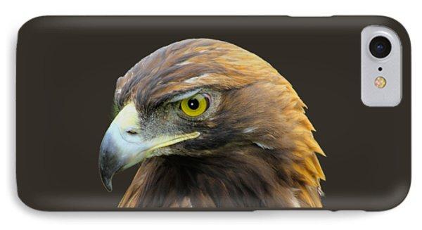 Golden Eagle Phone Case by Shane Bechler