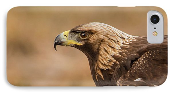 IPhone Case featuring the photograph Golden Eagle's Portrait by Torbjorn Swenelius