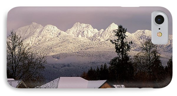 IPhone Case featuring the photograph Golden Ears Mountain View by Sharon Talson