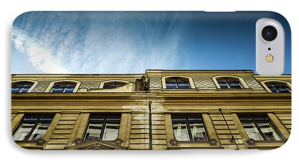 Golden Facade IPhone Case by M G Whittingham