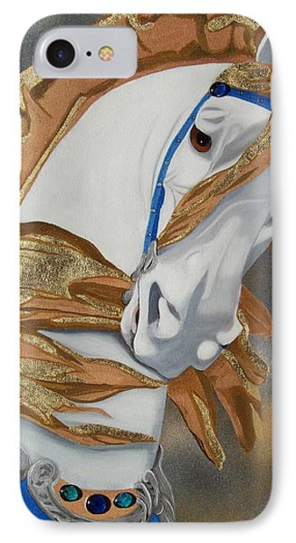 Golden Fantasy IPhone Case by Debbie LaFrance