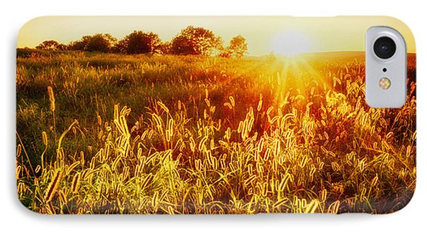 IPhone Case featuring the photograph Golden Fields by Mark Miller