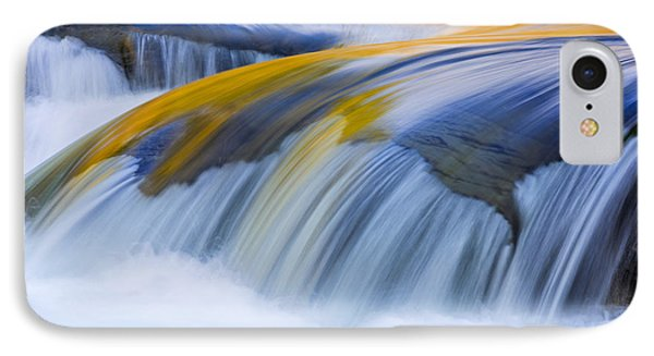 Golden Flow IPhone Case by Mike Lang