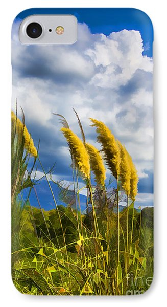 IPhone Case featuring the photograph Golden Fluff by Rick Bragan