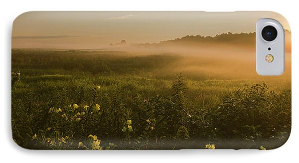 Golden Fog Sunrise At The Refuge IPhone Case