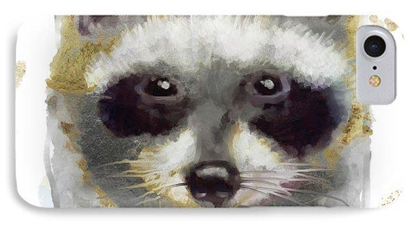 Golden Forest Raccoon  IPhone 7 Case