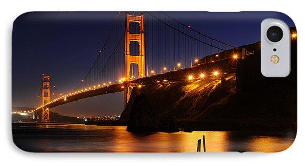 Golden Gate Bridge 1 IPhone Case by Vivian Christopher