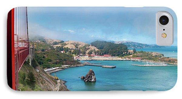 Golden Gate Bridge And Ft Baker IPhone Case