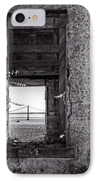 Golden Gate Bridge From Alcatraz IPhone Case