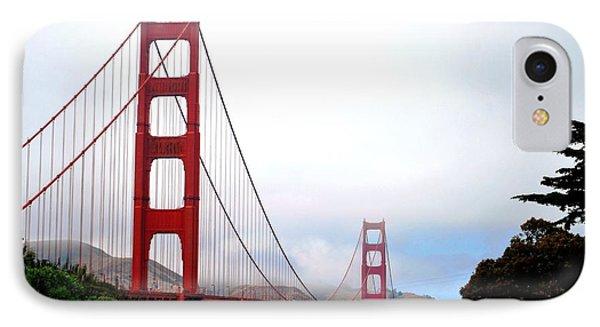 Golden Gate Bridge Full View IPhone Case by Matt Harang