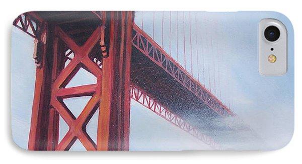 Golden Gate Bridge Phone Case by Kean Butterfield