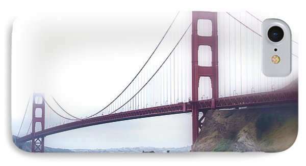 Golden Gate Bridge IPhone Case by Laura DAddona