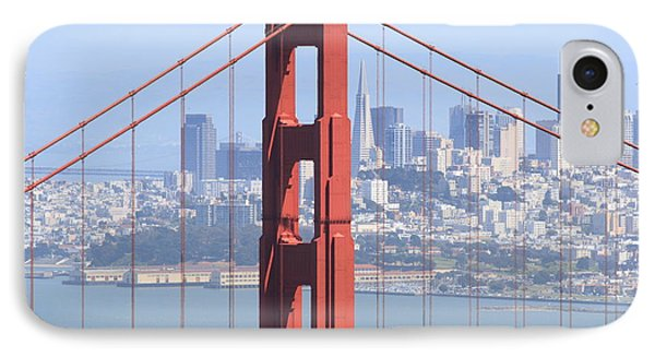 Golden Gate Bridge IPhone Case by Lou Ford