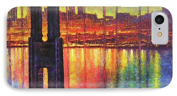 Golden Gate Bridge Phone Case by Raffi Jacobian