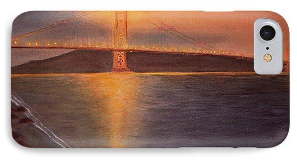 Golden Gate Bridge San Francisco IPhone Case by Ken Figurski