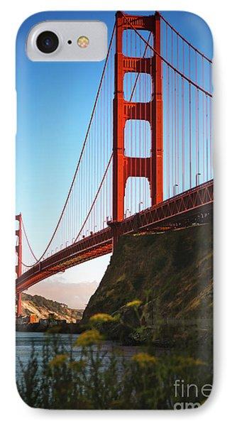 Golden Gate Bridge Sausalito Phone Case by Doug Sturgess