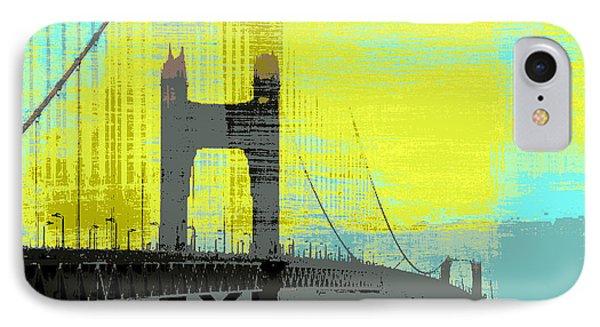 Golden Gate Bridge, Sf V1 IPhone Case by Brandi Fitzgerald