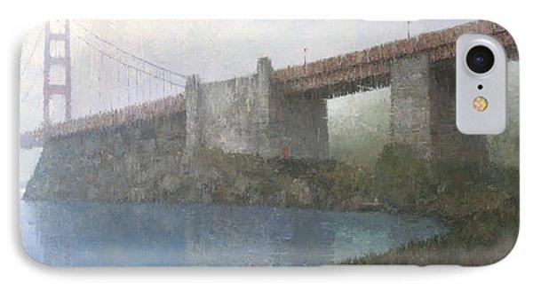 Golden Gate Bridge IPhone Case by Steve Mitchell