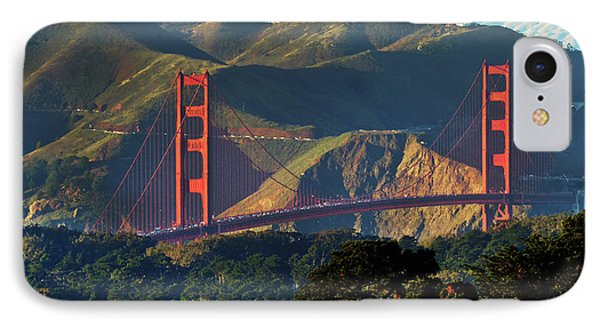 IPhone Case featuring the photograph Golden Gate Bridge by Steven Spak