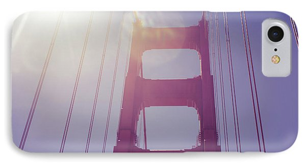 Golden Gate Bridge The Iconic Landmark Of San Francisco IPhone Case by Jingjits Photography