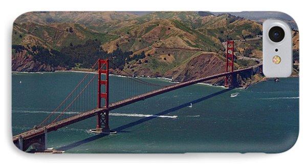 Golden Gate Phone Case by Donna Blackhall