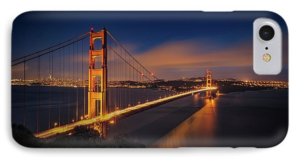 Golden Gate Phone Case by Edgars Erglis