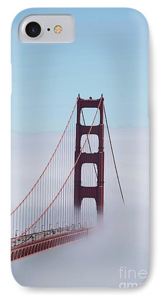 IPhone Case featuring the photograph Golden Gate Fogged - 3 by David Bearden