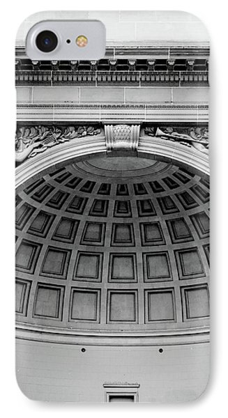 Golden Gate Music Concourse- Art By Linda Woods IPhone Case