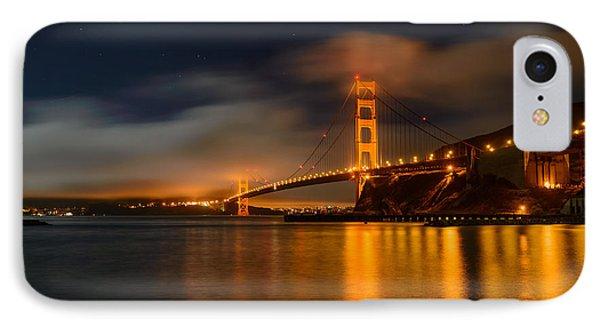 Golden Gate Night IPhone Case