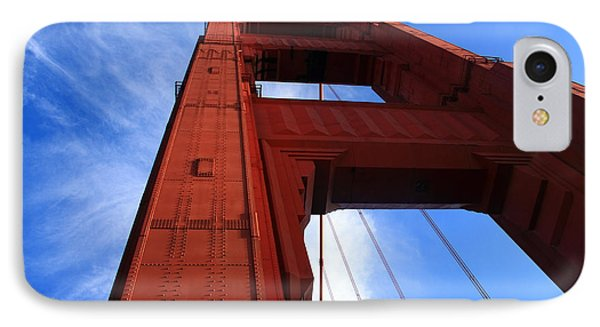 Golden Gate Tower Phone Case by Aidan Moran
