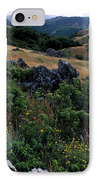 Golden Hills Of Summer Phone Case by Kathy Yates