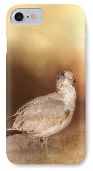 Golden Hour At The Beach IPhone Case by Kim Hojnacki