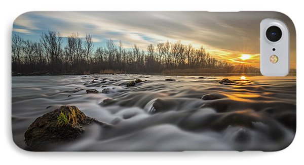 IPhone Case featuring the photograph Golden Hour by Davorin Mance