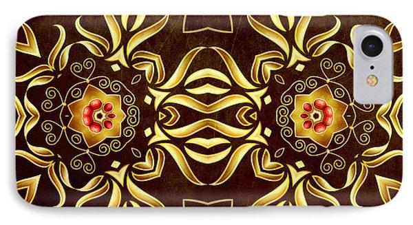 Golden Infinity IPhone Case by Georgiana Romanovna