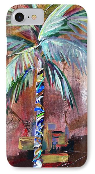 Golden Jasper Palm IPhone Case by Kristen Abrahamson