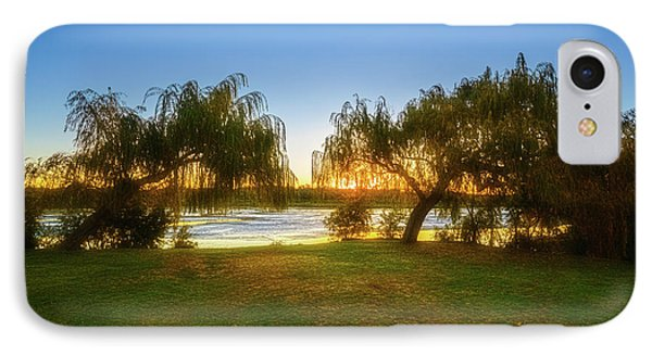 IPhone Case featuring the photograph Golden Lake, Yanchep National Park by Dave Catley