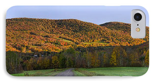 IPhone Case featuring the photograph Golden Light On The Catskills by Mark Papke