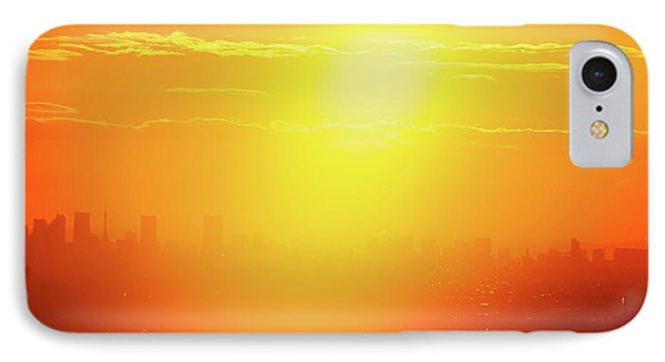 Golden Light IPhone Case