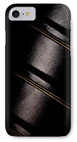 IPhone Case featuring the photograph Golden Line by Paul Job