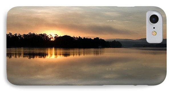 Far North Queensland iPhone 7 Case - Golden Liquid Dawn by Kerryn Madsen-Pietsch